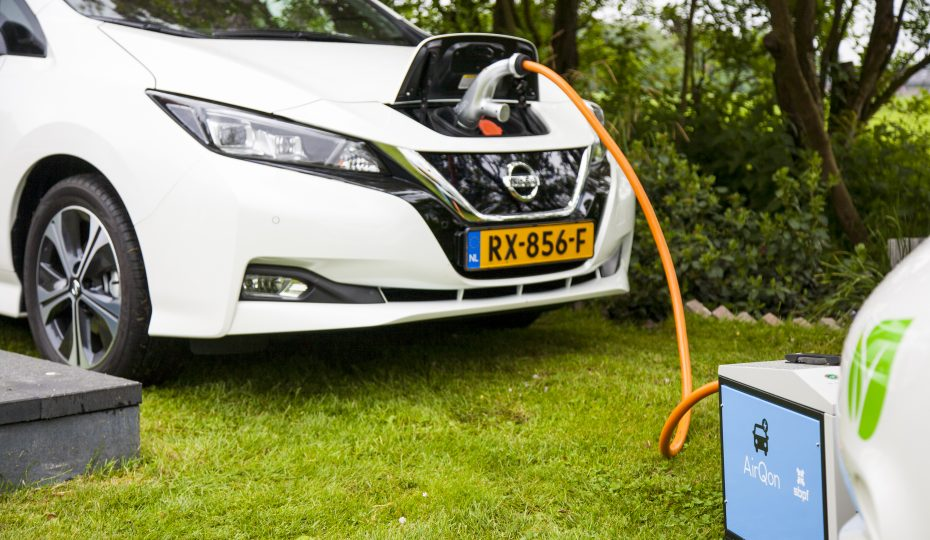 Electric car AirQon Event
