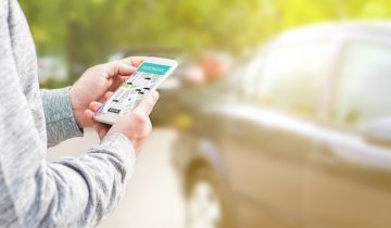 car sharing mobile app smart mobility